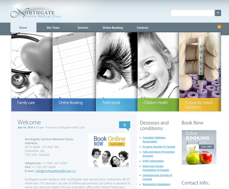 Medical Clinic Website