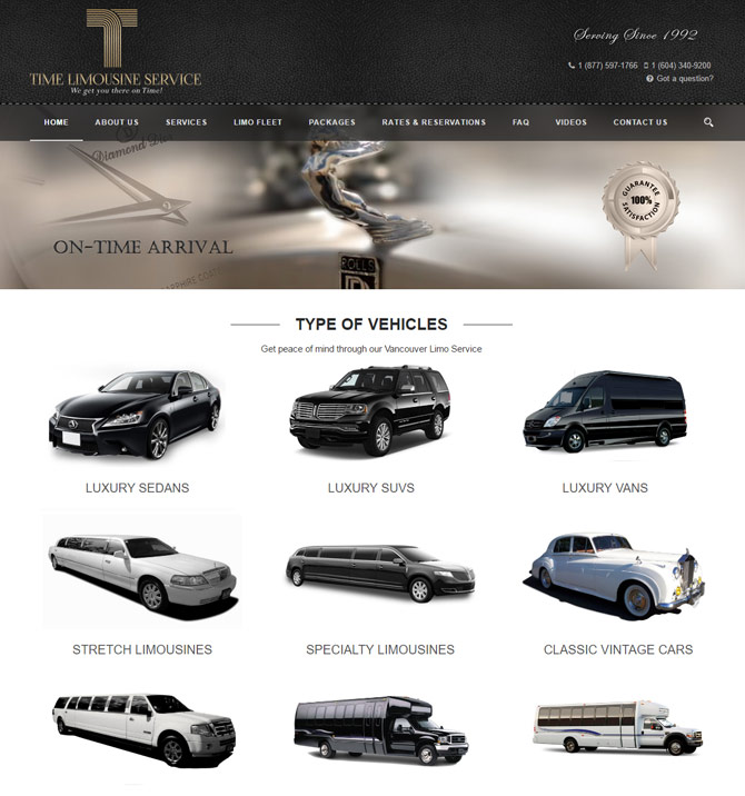 Amazing Limo Website