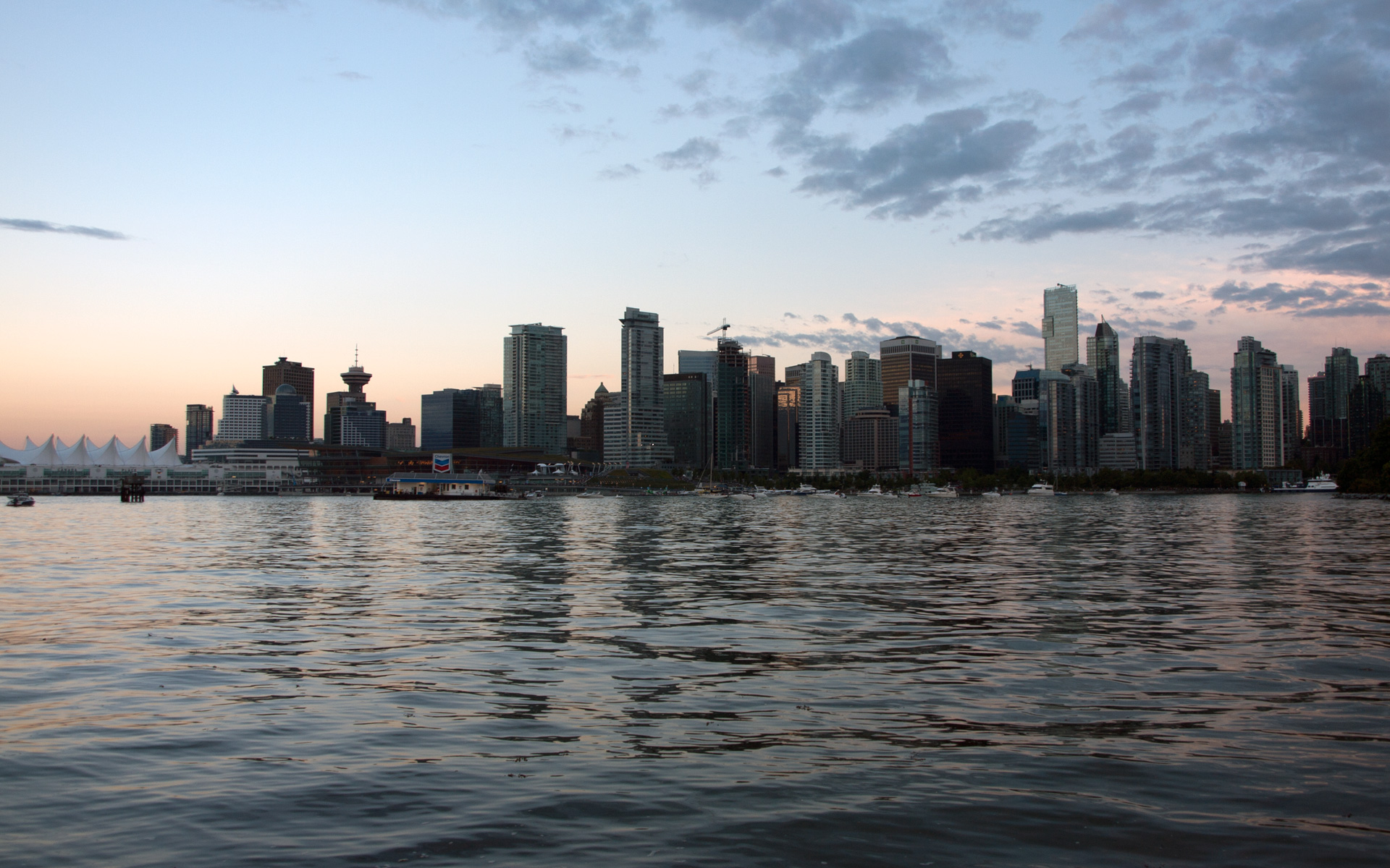 Vancouver Skyline – Canada Place -Free Download