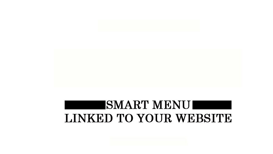 Smart-Menu-Website-Services
